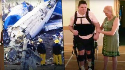 Dertig jaar nadat Stephen vliegtuigcrash overleefde, heeft hij voor het eerst weer gestapt