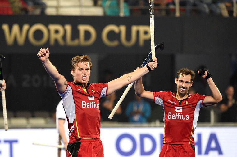 Boon en Van Aubel vieren de Belgische winst.
