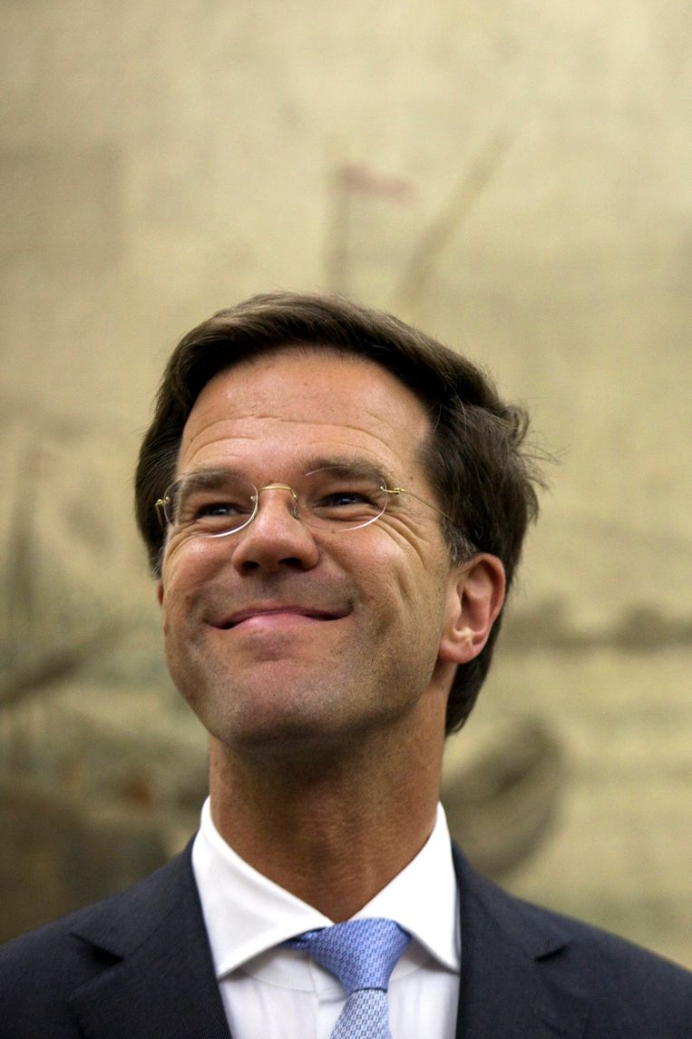 Premier Mark Rutte Beeld epa