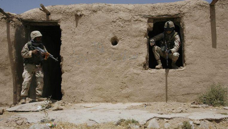 Veiligheidstroepen in Afghanistan Beeld epa