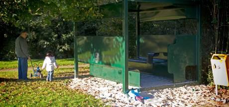 Jongeren verpesten hangplek in Bilts park