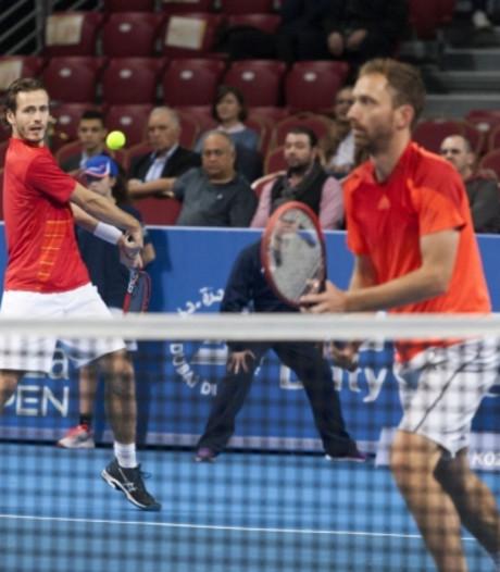 Koolhof en Middelkoop gaan in eerste ronde ATP Sofia onderuit