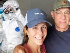 Tom Hanks et sa femme de retour aux Etats-Unis après avoir été testés positifs au Covid-19