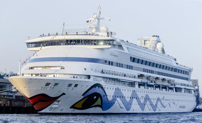 De Aida Aura, een vergelijkbaar cruiseschip.