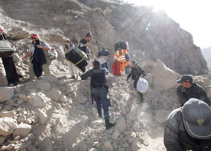In augustus 2016 werd Peru al eens getroffen door een aardbeving van 5.3 op de schaal van Richter.