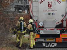 Tankwagen lekt gevaarlijke stoffen in Hengelo