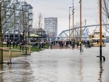 Lockdown-vermaak in aantocht: kades en uiterwaarden gaan overlopen door hoog water