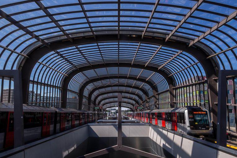 Station Noord, reizigers per dag: 41.000. Beeld Rink Hof