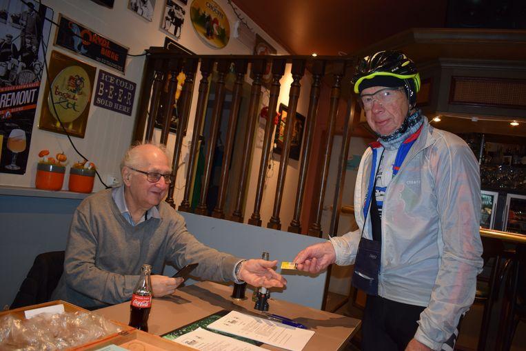 Antoine Van Wettere uit Merelbeke (75) tekende zondag voor een slordige 115 kilometer.