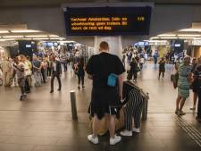 Haagse treinreizigers dupe van grote storing rondom Amsterdam