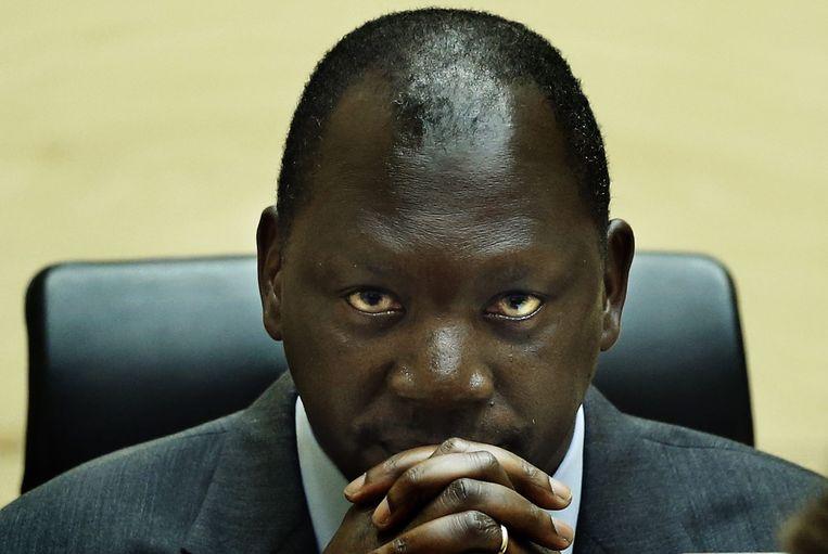 Thomas Lubanga Beeld EPA