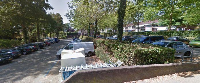 Parkeerterrein De Brakken in Rhenen.