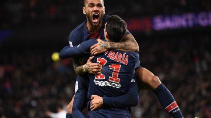 PSG neemt na de pauze ruimschoots afstand van Rennes, Cavani twee keer aan het kanon