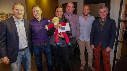 Iris wint 1.000 euro bij wedstrijd middenstand