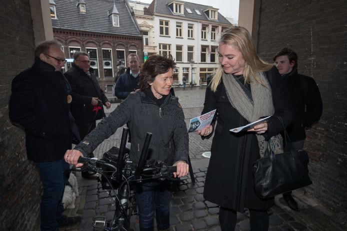 Minister Melanie Schultz Van Haegen bracht afgelopen donderdag een bezoek aan Kampen.