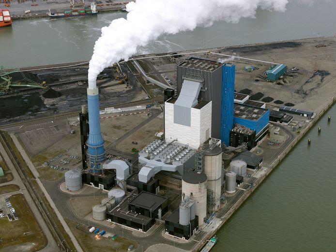 De Onyx-kolencentrale op de Maasvlakte.