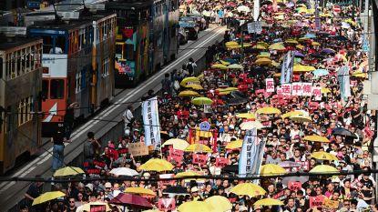 Massaal protest in Hongkong tegen nieuwe uitleveringswet
