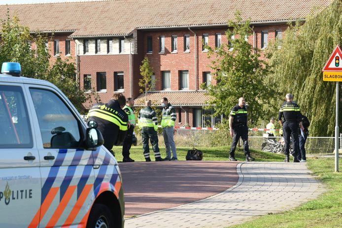 Een vrouw is vanmiddag zwaargewond geraakt bij een geweldsincident op het Hofstadpad, naast Houten Castellum.