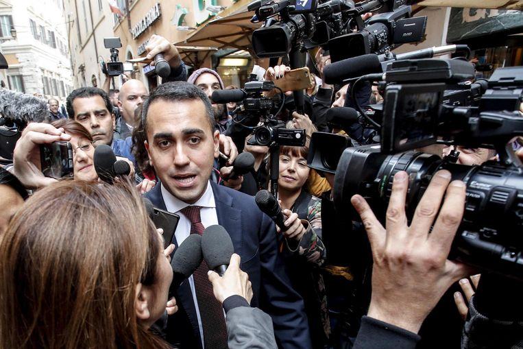 Luigi Di Maio van de Vijfsterrenbeweging.
