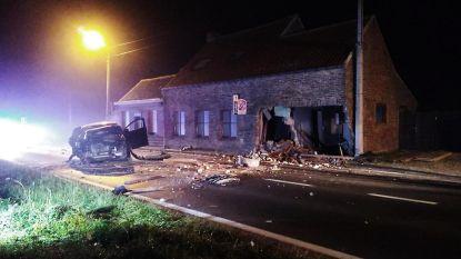 Pas verkocht huis vernield na crash