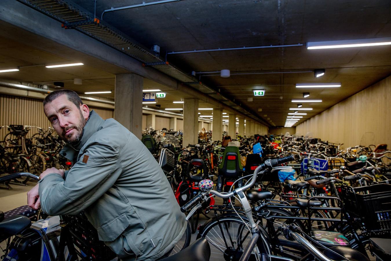 Wouter van Minderhout, programmamanager fietsparken ProRail