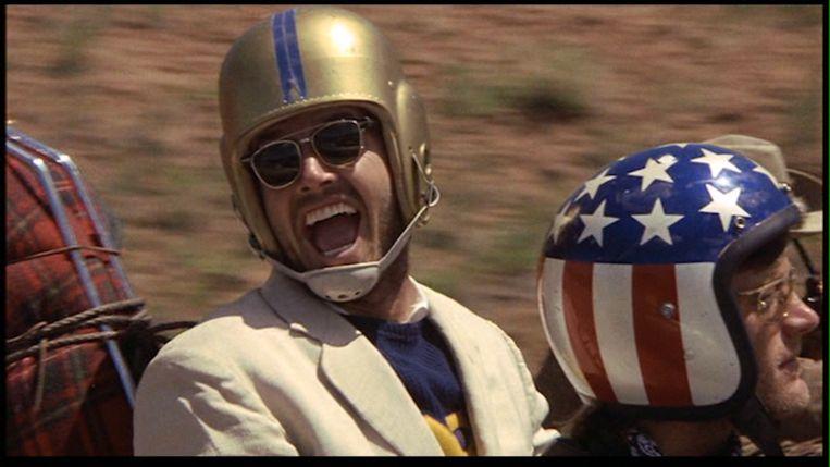 Jack Nicholson als snelle jongen Beeld Easy Rider