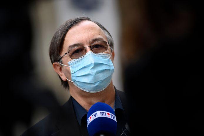 Yves Van Laethem, porte-parole interfédéral de la lutte contre le coronavirus.