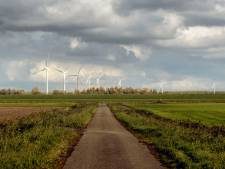 Geen vier, maar drie lagere windmolens in Auvergnepolder bij Halsteren