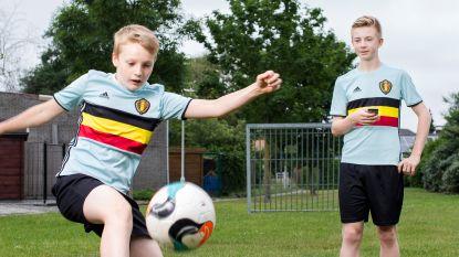 Voetbalgekte in de speelgoedwinkel