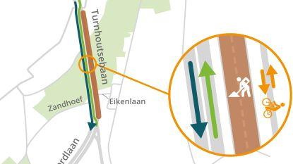 Turnhoutsebaan (N19) krijgt nieuwe laag asfalt: twee weken verkeershinder
