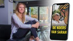 """De koers van Sarah. Vanaf dit weekend, elke koersdag van Van Aert, op HLN.be: """"Heb er zin in, ondanks het rotweer"""""""