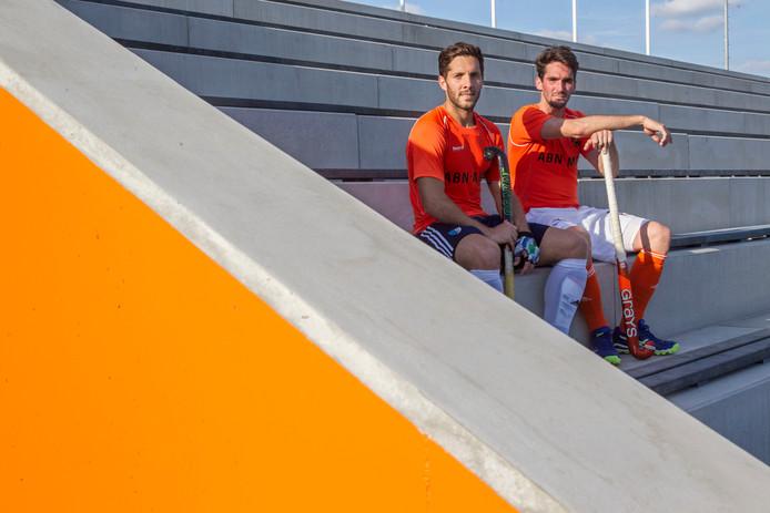 Robert van der Horst (rechts) en Agustin Mazzilli.