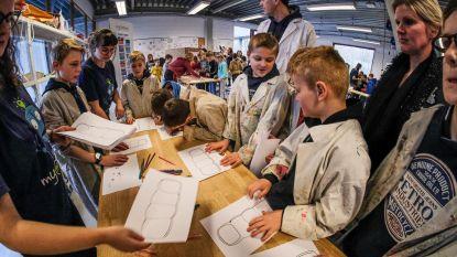 Leerlingen uit lager, middelbaar en hoger onderwijs maken samen hun droommachine