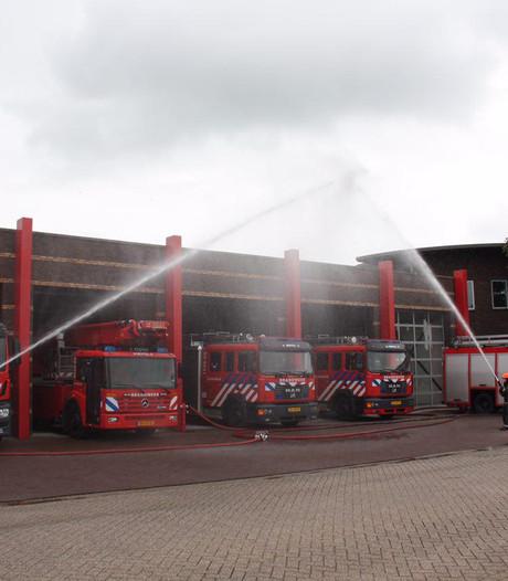 Omgekomen brandweermensen geëerd in de regio