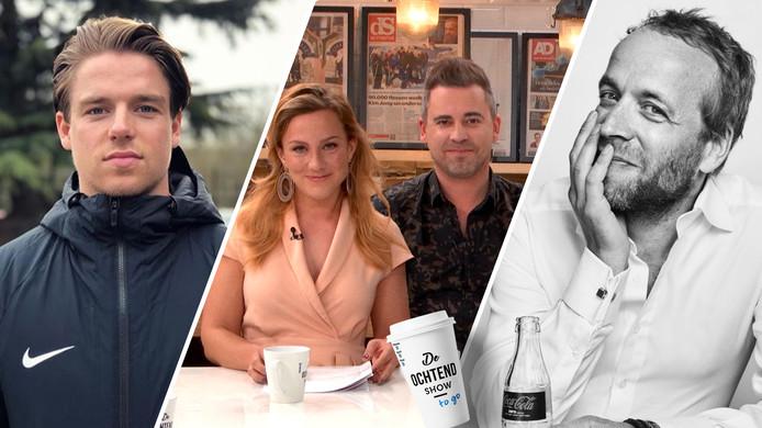 Koen Weijland en Iebele van der Meulen te gast in De Ochtend Show to go