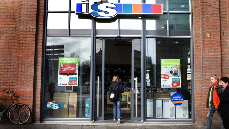 Zestig procent van de winkels laat de deuren open staan. Beeld anp