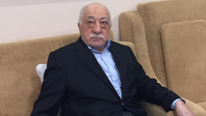 Fethullah Gülen in zijn huis in Pennsylvania