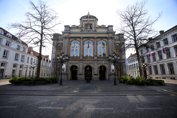 Archieffoto van de Stadsschouwburg.