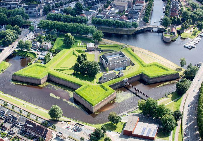 De Citadel in Den Bosch is op zaterdag 15 augustus 2020 het vertrekpunt van de tweede etappe van de Vuelta ofwel de Ronde van Spanje.