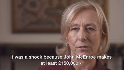 """Navratilova pikt loonverdeling bij BBC niet: """"McEnroe verdient tien keer meer dan ik voor vergelijkbaar werk"""""""