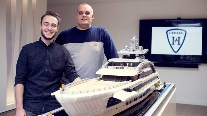 """Lego Masters Corneel en Björn bouwen grootste jacht ter wereld na: """"18.000 blokjes en 300 uren werk"""""""