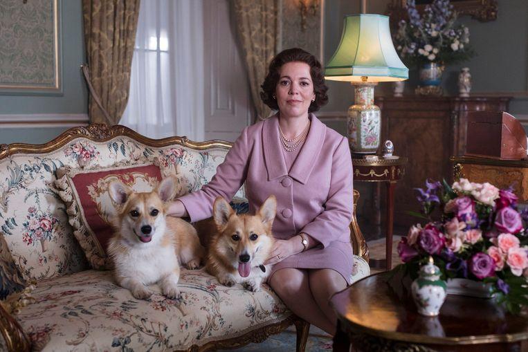 Olivia Colman als koningin Elizabeth II. Beeld Sophie Mutevelian/Netflix