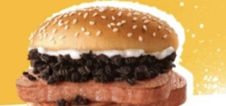 Mayo et Oreo: le nouvel hamburger de McDonald's écœure la toile