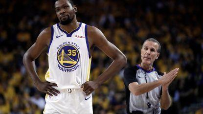 Tweede duel NBA Finals komt te vroeg voor Durant