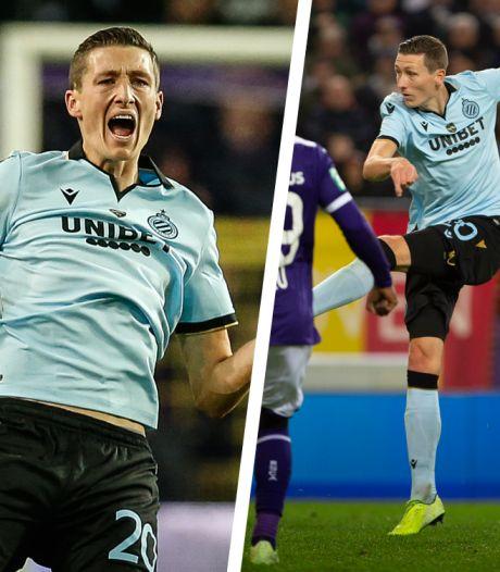 La volée de Vanaken contre Anderlecht élue plus beau but de l'année