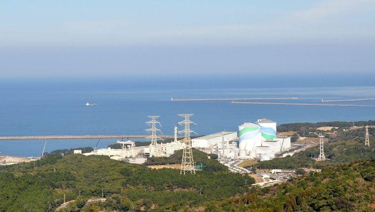 De kerncentrale in Sendai. Beeld epa