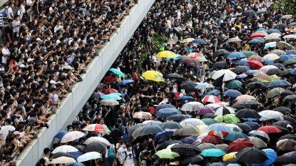 Hongkong stelt omstreden uitleveringswet voorlopig uit na massale protesten