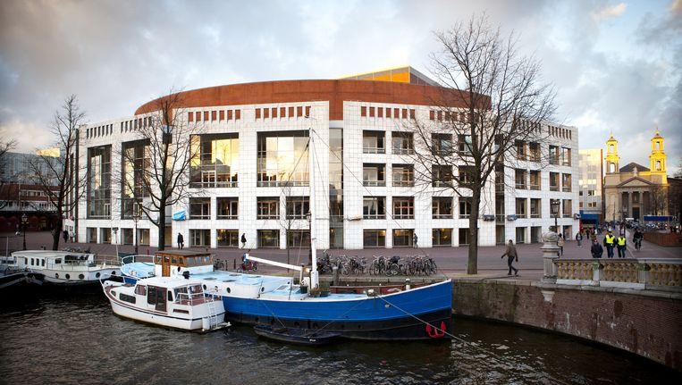 Het stadhuis van Amsterdam. Beeld ANPA