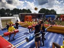 Langer feesten op het sportpark in Borkel en Schaft