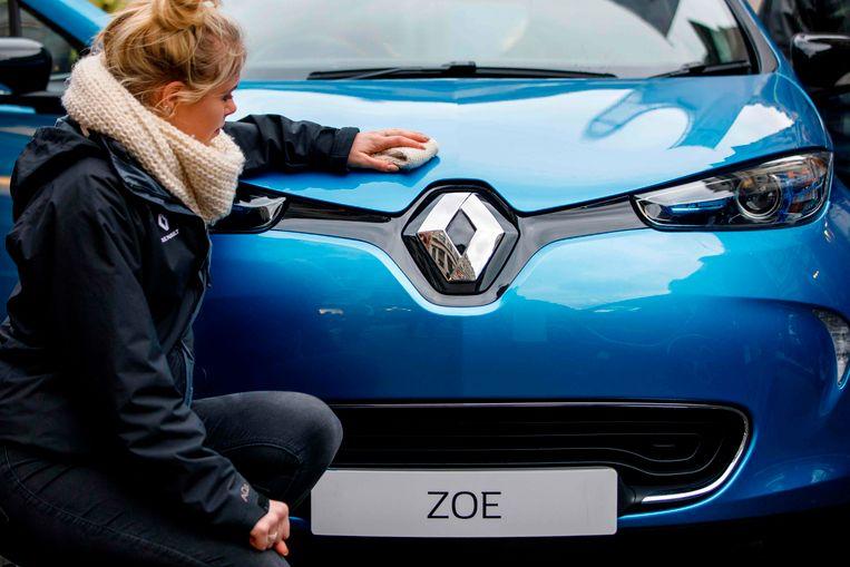 De Renault Zoe haalde slechts 232 in plaats van 400 kilometer.